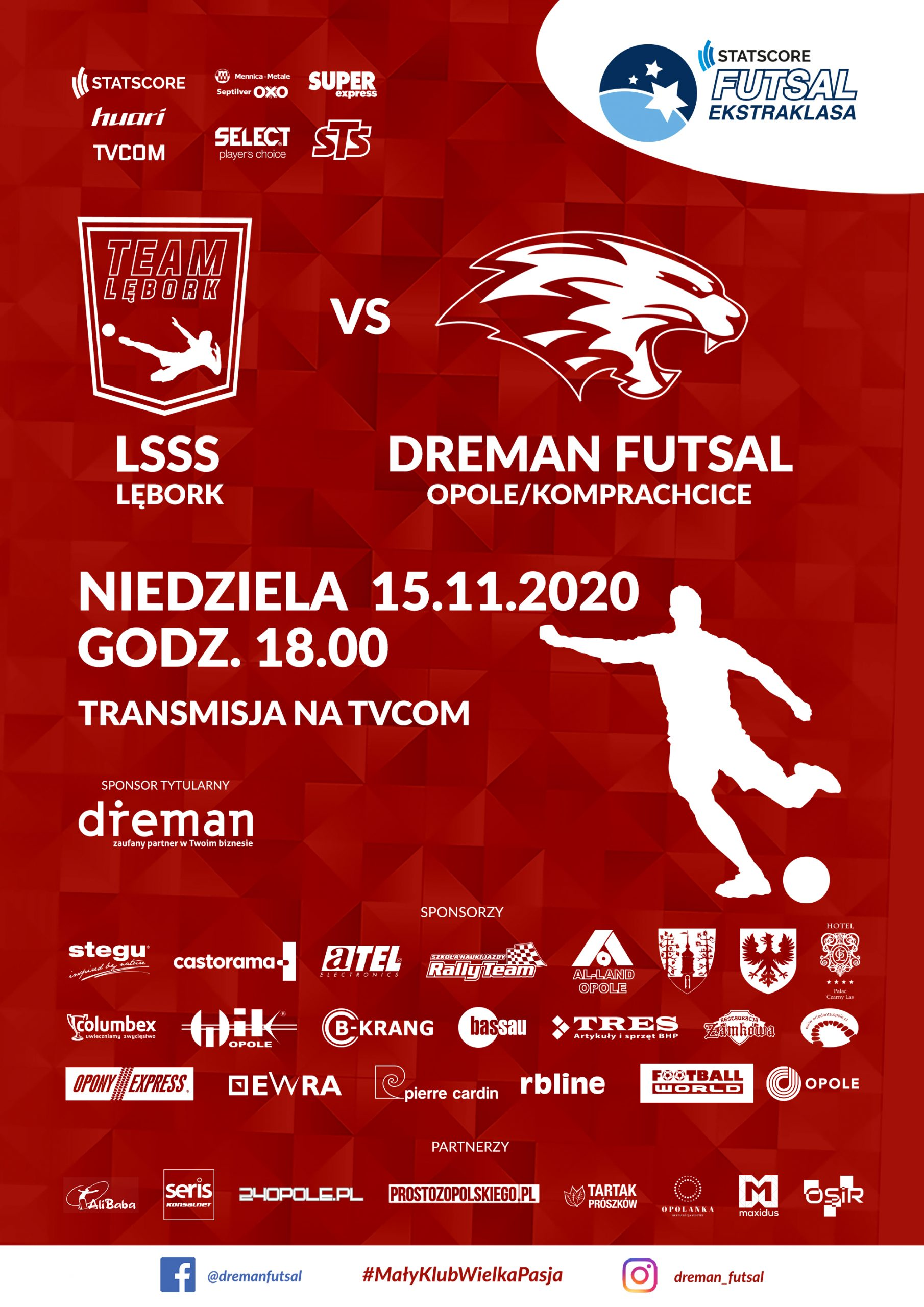 LSSS Lębork – Dreman Opole Komprachcice